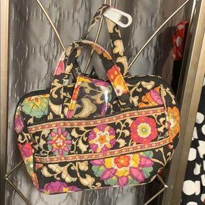 Vera Bradley Paisley Tote/Lunch/make-up bag